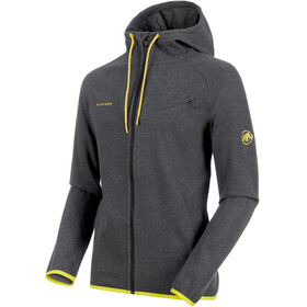 Mammut Logo ML Hooded Jacket Men phantom melange